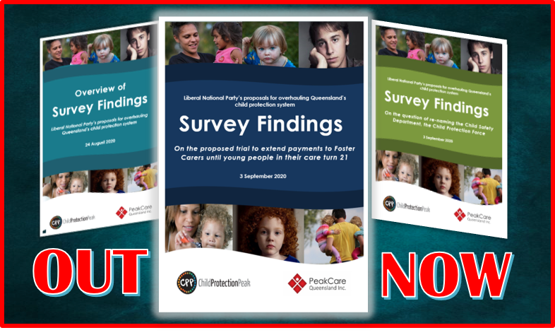Release of report on survey findings: On the proposed trial to extend payments to Foster Carers until young people in their care turn 21