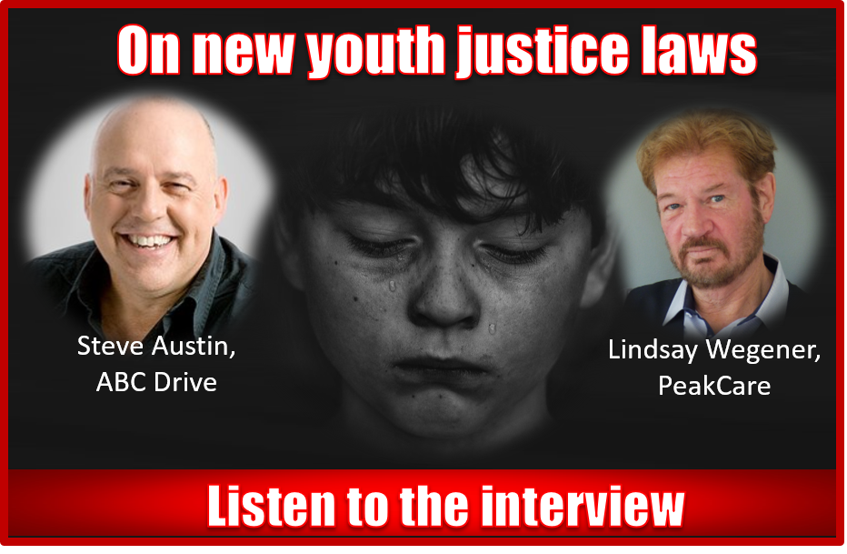 Lindsay Wegener speaks out following heated debate around new youth justice laws