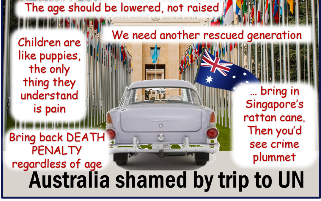 Is this the Australia we want? Reactions to UN review of raising age of criminal responsibility